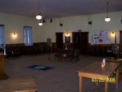 Grange interior before the PN