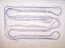 Track plan for the new layout