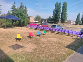 Preparing for our Sports Day
