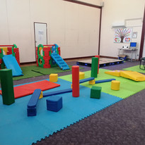 Our balancing and exercise area