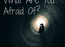 You say you are anxious but what are you actually afraid of?