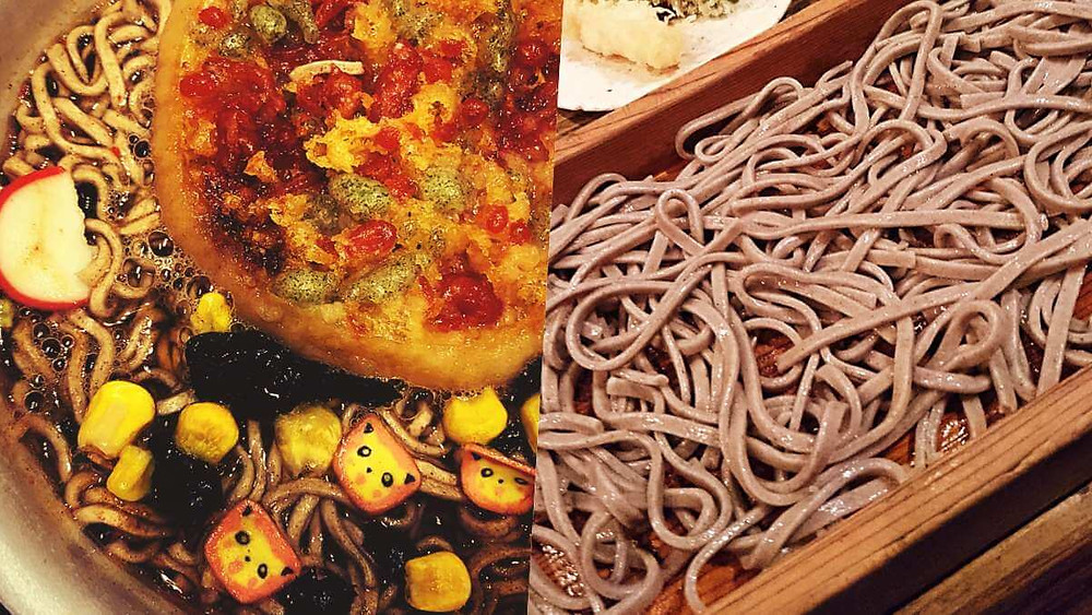 Japanese New Year Food - Toshikoshi Soba