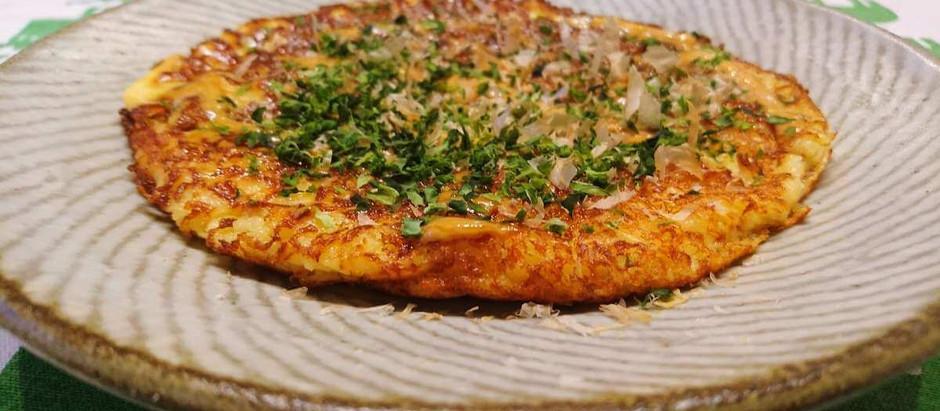 Easy Okonomiyaki Recipe (with Mountain Yams/Gluten Free)