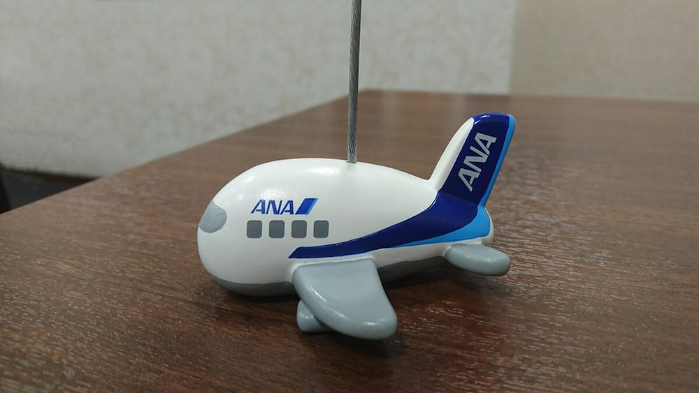 Kawaii Japanese airplane model in a Tokyo office