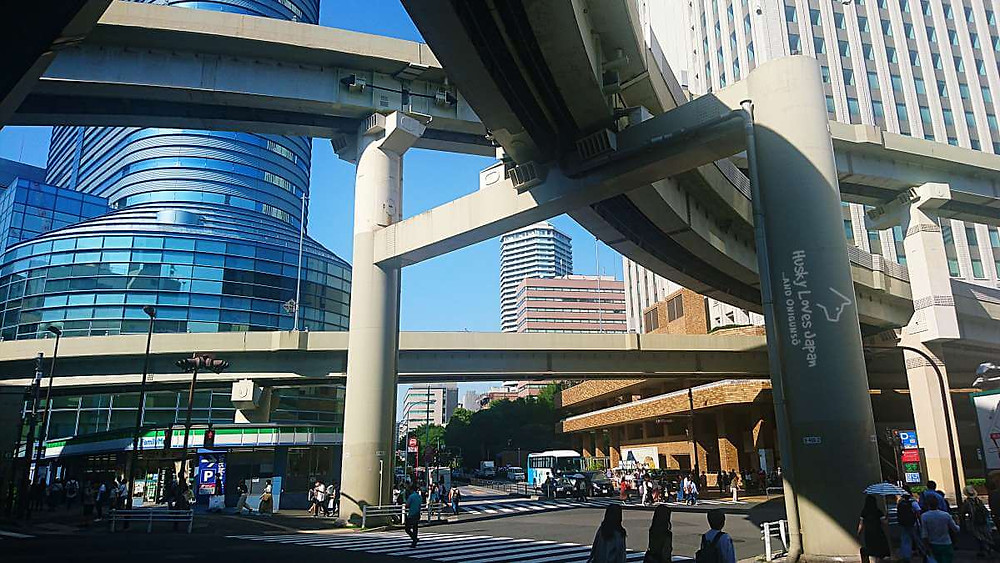 Big city vibes in Ikebukuro. The high-rise on the right is the foot of Sunshine City.