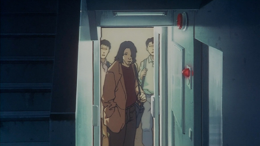 Still from the anime film Perfect Blue by Satoshi Kon