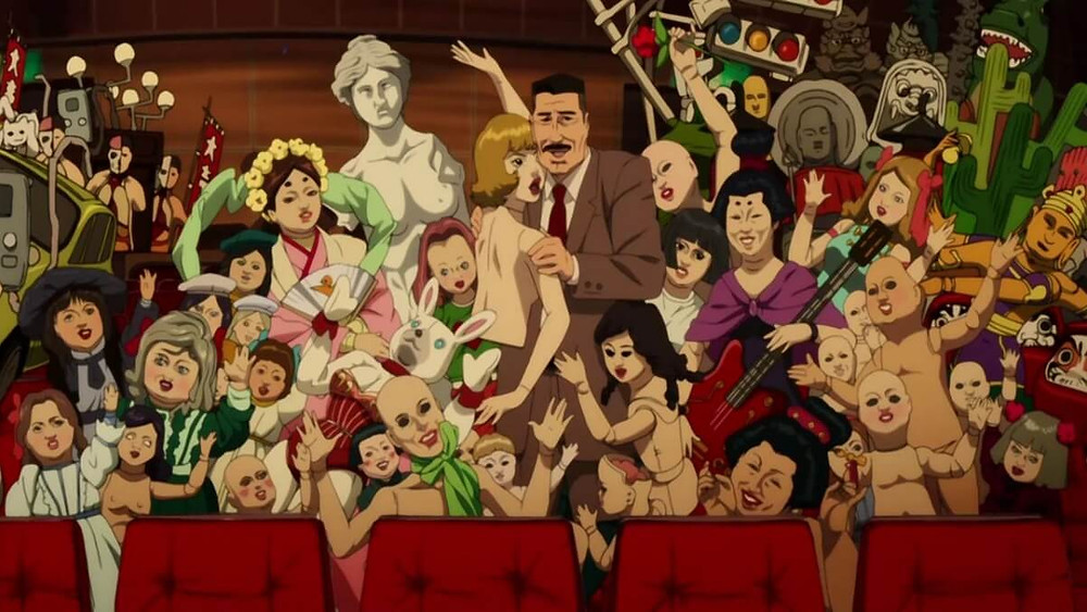 Anime party from the Satoshi Kon film Paprika