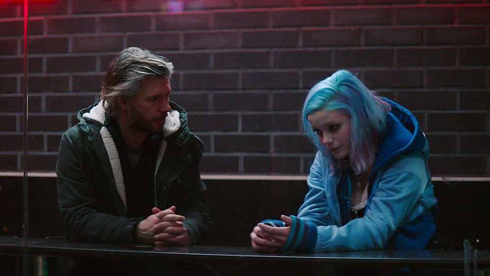 Ines Høysæter Asserson and Nicolai Cleve Broch in the movie Harajuku (2018).