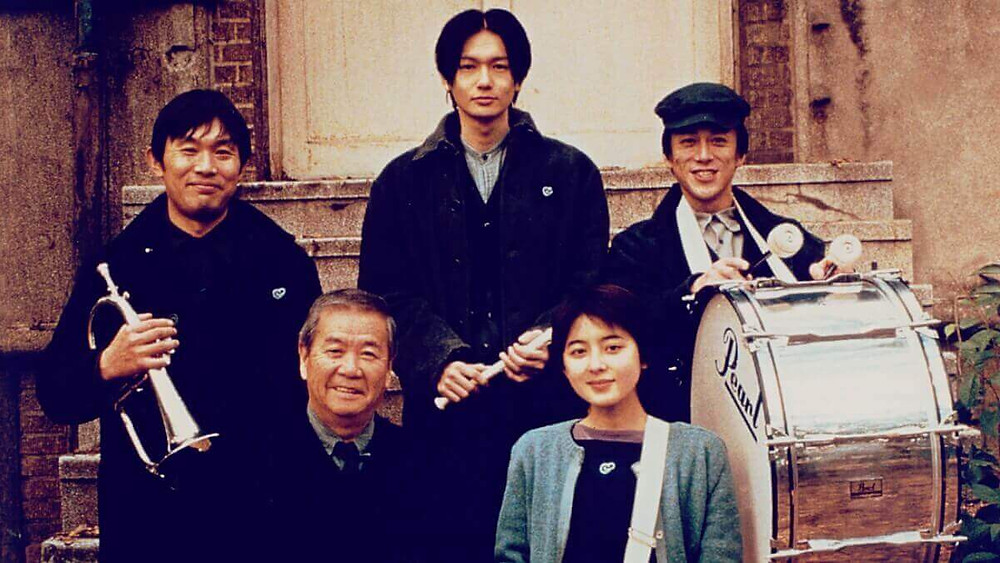Memory recreation crew from the film After Life (1998) by Hirokazu Kore-eda