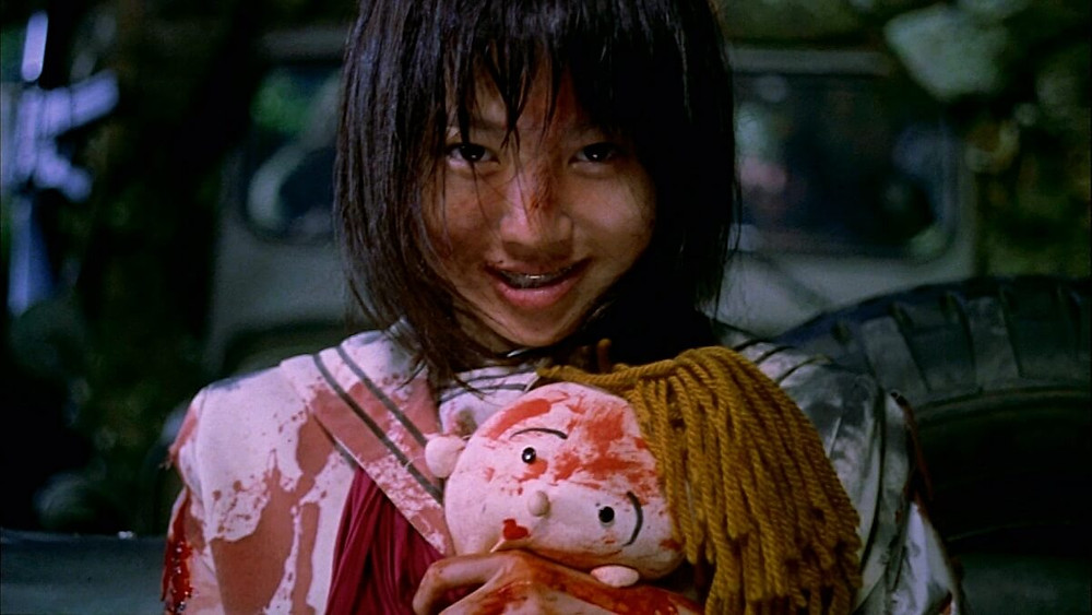 Character from the Japanese movie Battle Royale