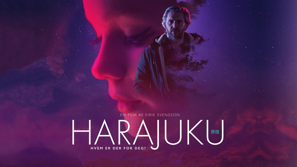 Movie poster for the Norwegian film «Harajuku» from 2018.