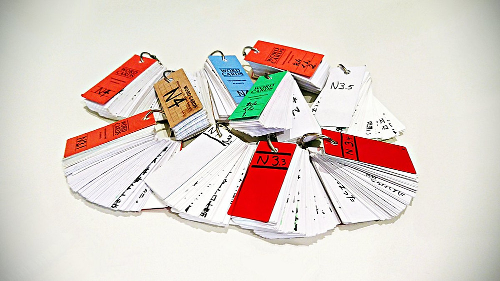 Flashcards for JLPT N3 (Japanese-Language Proficiency Test)