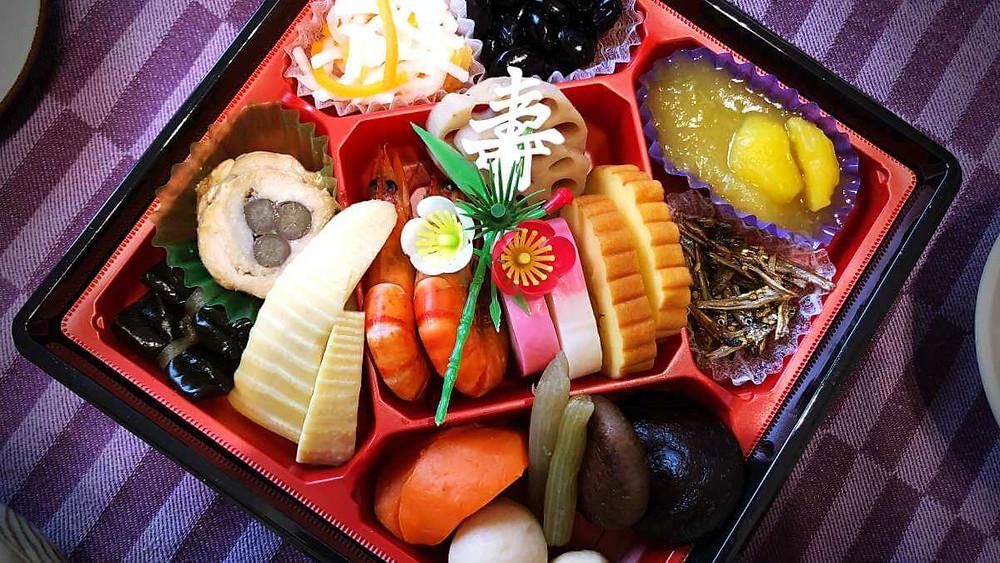 Japanese New Year Food - Osechi-ryori