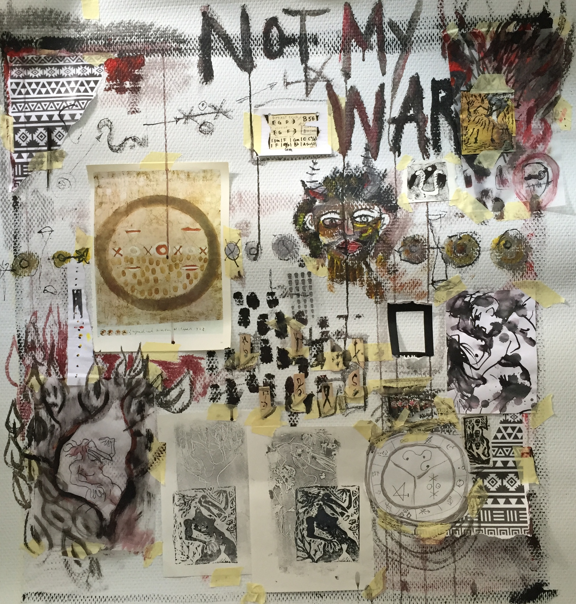 Not My War Paper 100x100