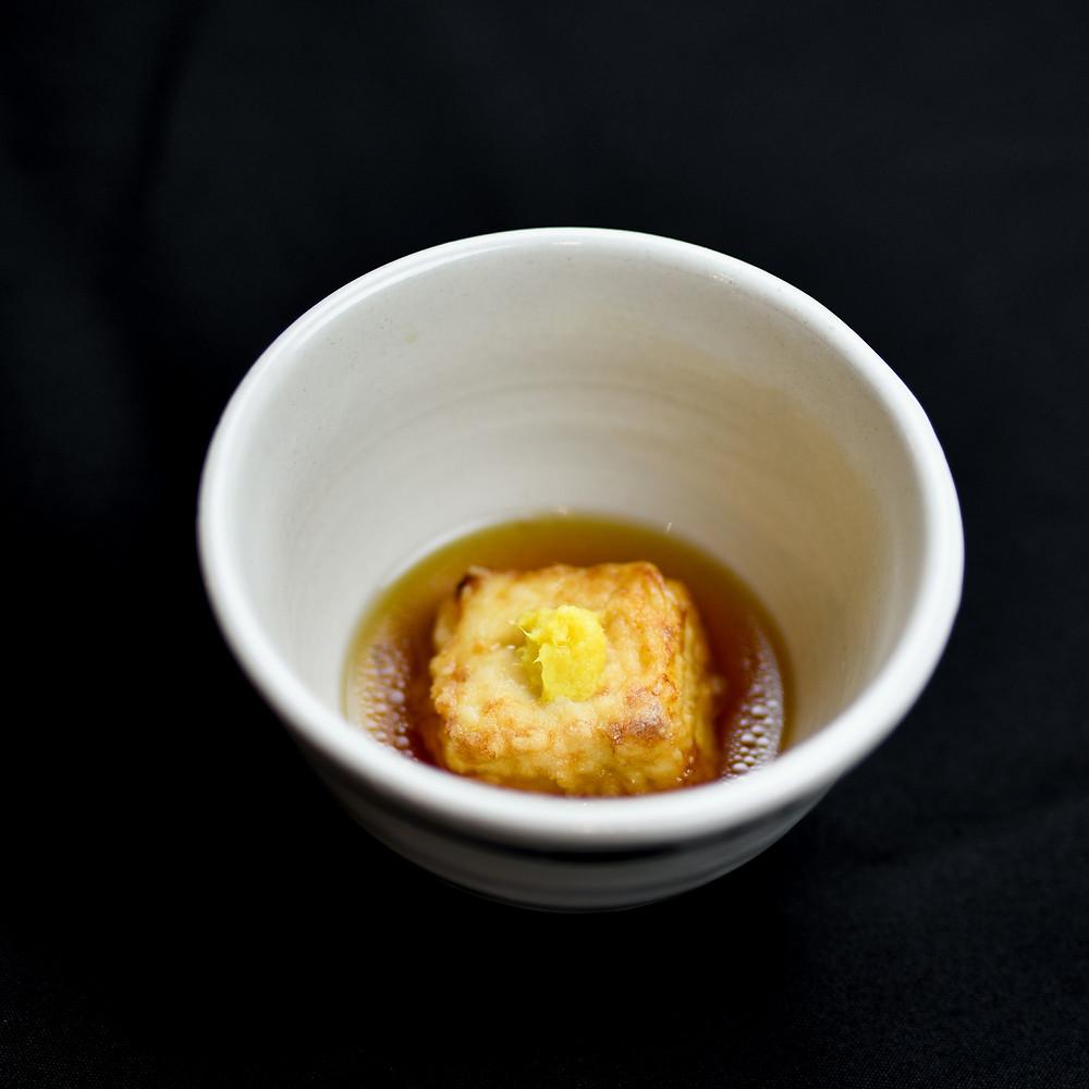 San Shi Go Agedashi Tofu