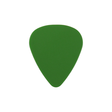 Delrin green guitar pick