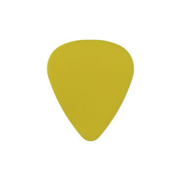 Delrin yellow guitar pick