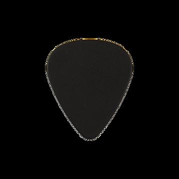 Delrin black guitar pick