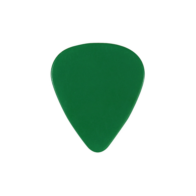 custom PVC green guitar pick