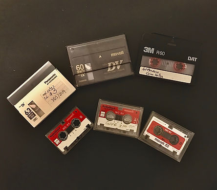 Mini DV, DAT Tape, Microcassette