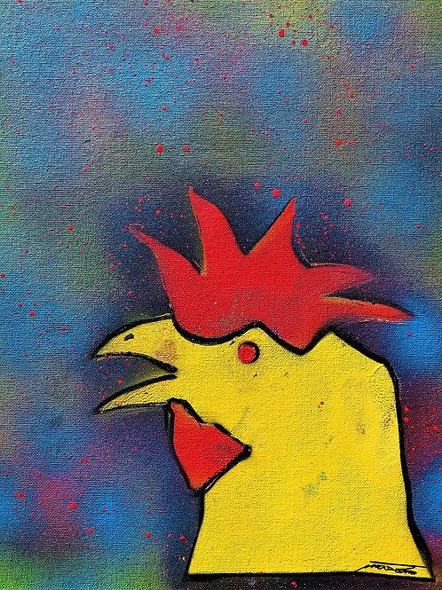 "Mason Marquardt - ""Rooster"" print"
