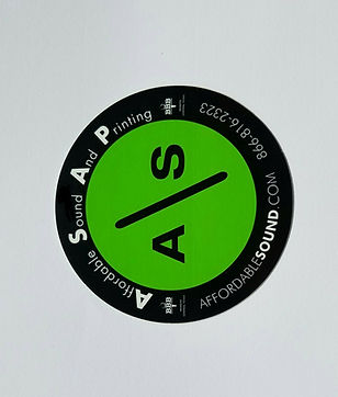 Affordable Sound Sticker