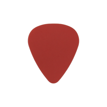 Delrin red guitar pick