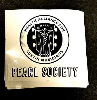 HAAM Pearl Society Sticker