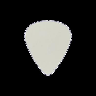 Custom White PVC guitar pick