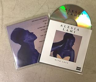 Alesia Lani Vinyl Sleeve packaging