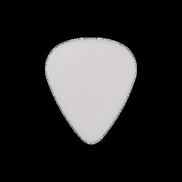 Delrin white guitar pick