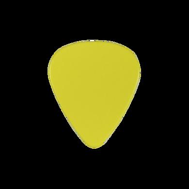 Custom yellow PVC guitar pick