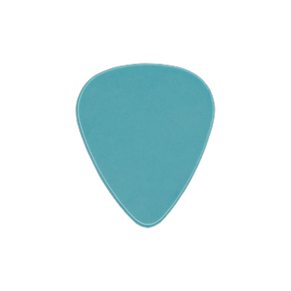 Sky blue guitar pick