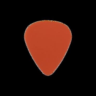 Delrin orange guitar pick