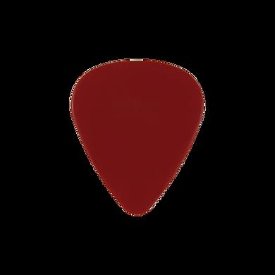 Custom PVC red guitar pick