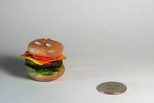 Munroe Marquardt - Burger sculpture mini