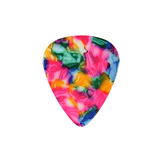 Mosaic guitar pick