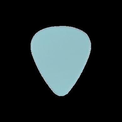 Custom PVC light blue guitar pick
