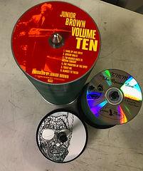 Junior Brown Bulk Discs