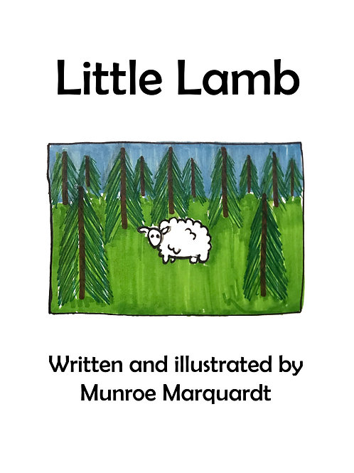 Munroe Marquardt - Little Lamb comic
