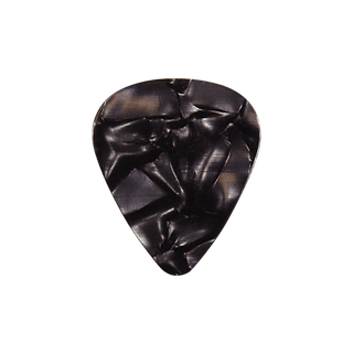 Black pearloid pick