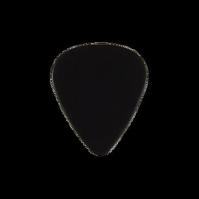 Custom PVC black guitar pick
