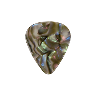 Abalone guitar pick