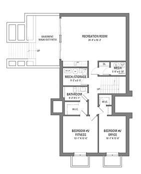 724 Foxdale Floor Plans - Lower Level