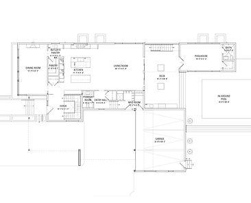 921 Sheridan Road Floor Plans - Main Level