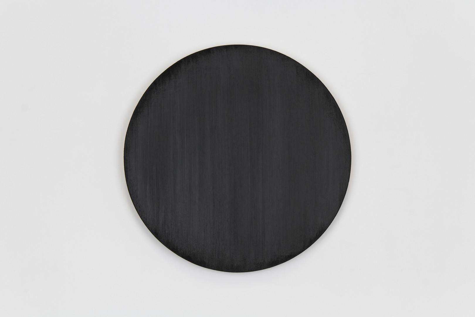 Untitled (mars black circle painting) 10