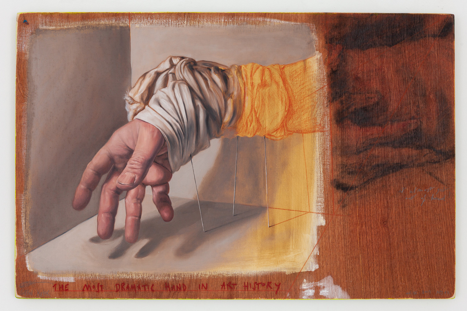 The Most Dramatic Hand in Art History