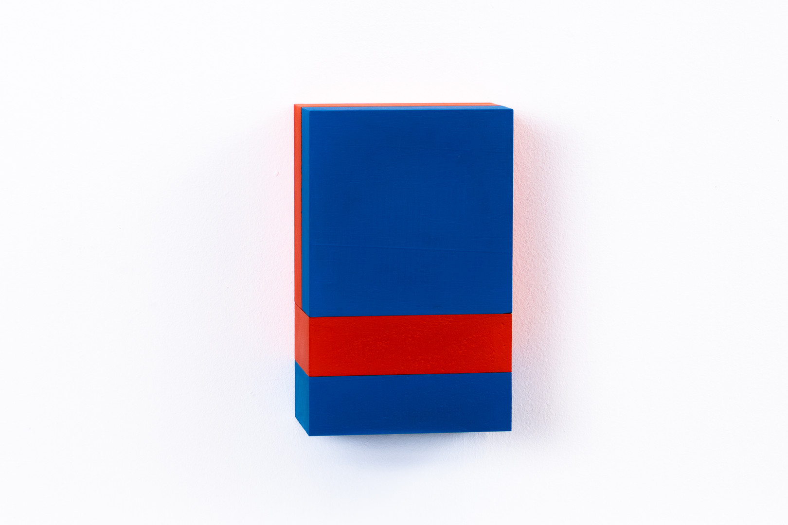 Wooden Composition Red&Blue Shine