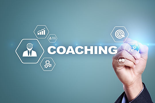 Coaching and mentoring on virtual screen