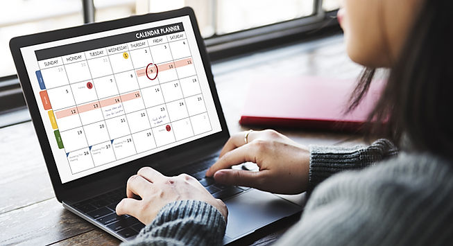 Calendar Planner Organization Management
